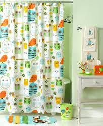 Walmart Canada Bathroom Curtains by Beach Themed Shower Curtain Kids Ruffle Shower Curtain Pottery
