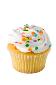 Vanilla Cupcake clipart simple cupcake 4