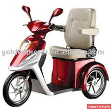 China Electric Disabled Scooter Mobility Tricycle ECVV Provides
