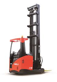 100 Industrial Lift Truck Electric Long Reach Forklift Automatic Pallet Power