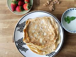 glutenfreie protein crepes