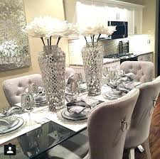 Dining Room Table Centerpiece Ideas Glass Enchanting Round Decor Best