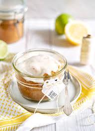 limoncello kuchen im glas