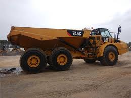 Caterpillar 745 C - Articulated Dump Trucks (ADTs) - Construction ...