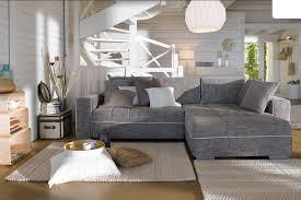 canapes d angle canapé d angle convertible réversible casa coloris gris canapé