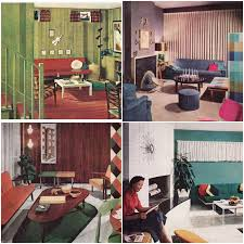 100 Modern Interior Design Colors 7 Reasons Why 1950s Homes Rocked