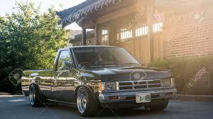 100 Datsun Truck Khabarovsk Russia August 28 2016 Car Nissan Pickup