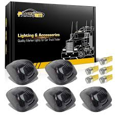 Partsam 5x Amber Cab Marker Roof Clearance Lights 264143AM+ 5x Amber ... Trucklite Yellow 10 Series 212 Mkerclearance Lamp 10205y Round Led Truck And Trailer Lights Side Clearance New Sun 2pc 6 Oval Brake Stop 8946a Signalstat Replacement Lens For Marker Best Led Clearance Lights Camper Amazoncom Blue Cab Youtube 5pcs Clear Amber Roof Top Running High Profile 8 Diode Partsam 20 Pcs Amber 2 Beehive Led Boat 8947a Rectangular
