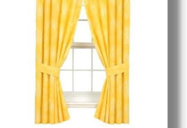 Kmart Yellow Kitchen Curtains by Curtains Pleasant Yellow And Gray Chevron Kitchen Curtains