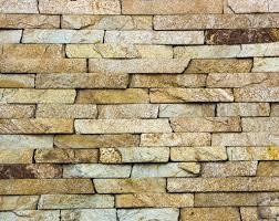 Yellow Cladding Slate Stone Granite Travertine Texture Close Up Photo By Maykal