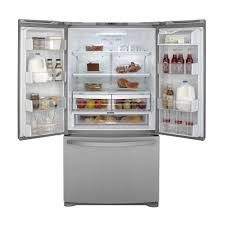 Counter Depth Refrigerator Dimensions Sears by Kenmore 71603 25 4 Cu Ft French Door Bottom Freezer