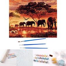diy malen nach zahlen für erwachsene und kinder diy ölgemälde geschenk kits geeignet für wohnzimmer wanddekoration wandmalerei 40x50cm
