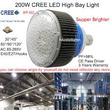 200w cree xp g2 led high bay light for factories cree led