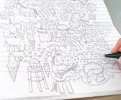 Doodle Away 6 Inspiring Drawing Ideas