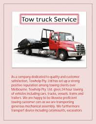 100 Tow Truck Melbourne Truck Service By Help Issuu