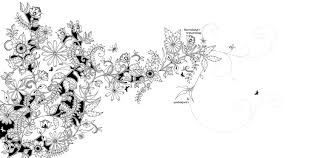 Secret Garden Coloring Book With Pages