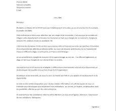 Lettre De Motivation Promotion Interne Lettres Modeles En Modéle De Lettre De Motivation Pour Un Emploi Alienbar