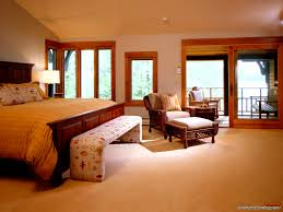 Laminated Black Walnut Floating Hardwood Floor In Large Bedroom Wooden Master Bedrooms Interior Decorations Zoomtm Modern Size