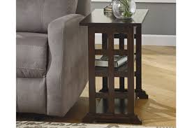 Braunsen Chairside End Table | Ashley HomeStore Leick Delton Narrow Chairside End Table Fniture 10405 Amazoncom Boa Collection Solid Wood With Drawer The New Way Home Decor Easy Marion Ashley Homestore Slatestone Oak Rustic Finish Mission W 2 Open Shelves By Signature Design Sunny Designs Albany Chair Side With Door In Weathered Black 2019 Guest Room Huntley Espresso 15 14 Wide Accent Rattan Sofa Short Antique White Small Cottage Chaoal Gray Unique Ideas