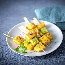 recette cuisine été brochettes poisson été recette cuisine amuse gueules et dips