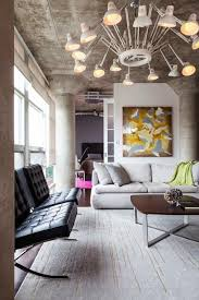 furniture interior loft living space designs ideas with modern