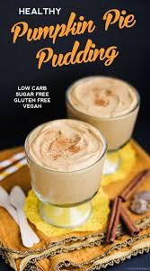 Paleo Pumpkin Custard With Gelatin by Pumpkin Pie Parfaits Glutenfree Vegan Raw Pumpkin Pudding