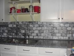 Glass Backsplash Ideas With White Cabinets by Kitchen Awesome Tumbled Stone Backsplash Backsplash Meaning
