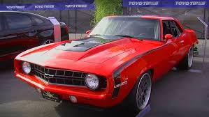 Pro Touring LSA Supercharged 1969 Chevrolet Camaro By V8 Speed Shop ...