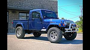 100 Jeep Wrangler Truck Conversion Kit Blue Jay Brute AEV Brute Walkaround YouTube