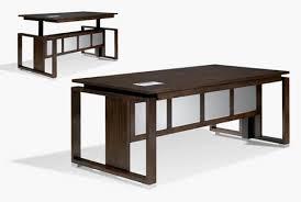 Jesper Prestige Sit Stand Desk by Sit Stand Office Desk Desks Adjustable Height Gas Spring Easy Lift