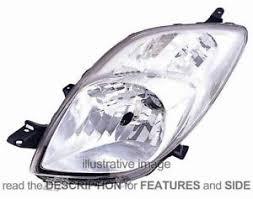 headlight toyota yaris 2006 01 2008 12 left side 81170 52570 ebay