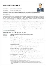Banking Resume Examples Banker Example Sample Investment Actuary Entry Level