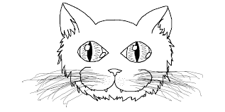 Hd Cat Mask Template