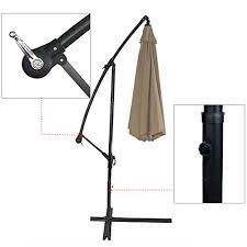 Patio Umbrella Offset 10 Hanging Umbrella by 10 Ft Patio Umbrella Offset Hanging Umbrella Outdoor Market