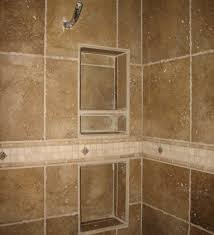 recessed bathroom tile niches traditional tub and bath tile
