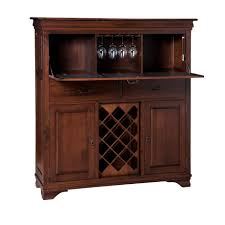 Trendy Morgan Bar Cabinet Home Envy Furnishings Solid Wood