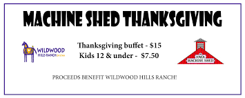 Iowa Machine Shed Catering Menu by Thanksgiving Buffet At The Machine Shed