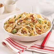 boursin cuisine recettes linguines au boursin et brocoli soupers de semaine recettes 5