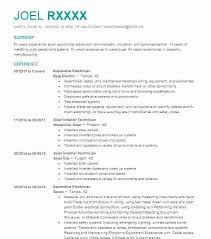 Resume Examples Electrician Helper Sample Resumes Downloadable For
