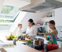 genießen auf hohem niveau die küche unterm dach
