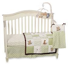 baby crib bedding set by disney my friend pooh collection
