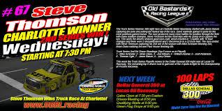 100 Nascar Truck Race Results Steve Thomson 67 RideTVcom Wins Charlotte