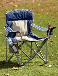 Coleman Oversized Padded Quad Chair Side Cooler by 500 Lb Capacity Heavy Duty Portable Chair Great Gift Ideas
