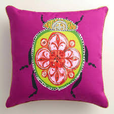 Bohemian Outdoor Pillows And Cushions Throw Square Base Color With Comely B