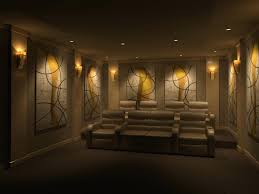 home theater wall sconces lighting amazing rooms with brown
