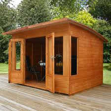 100 Contemporary Summer House 8 X 8 FT Wooden TG House From Westmount Living