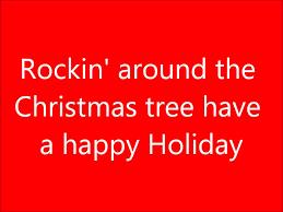 What Kind Of Christmas Tree To Buy by Rockin U0027 Around The Christmas Tree Lyrics Youtube