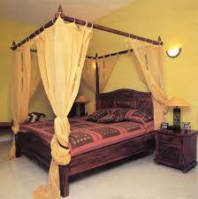 Blackout Canopy Bed Curtains by Amusing Black Canopy Bed Curtains Images Inspiration Tikspor