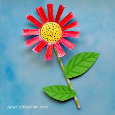 The Paper Cup Flower Craft Is Perfect For Kids As A Spring