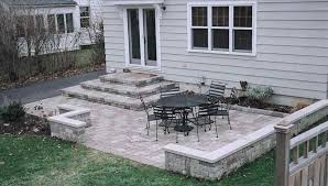 Paver : Paver Patio Design Patterns Pavers Paver Patio Area With Fire Pit And Sitting Wall Nanopave 2in1 Designs Elegant Look To Your Backyard Carehomedecor Awesome Backyard Patio Designs Pictures Interior Design For Brick Ideas Rubber Pavers Home Depot X Installing A Waste Solutions 123 Diy Paver Outdoor Building 10 Patios That Add Dimension Flair The Yard Garden The Concept Of Ajb Landscaping Fence With Fire Pit Amazing Best Of